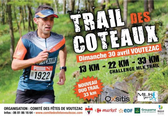 Voutezac affiche trail 2017